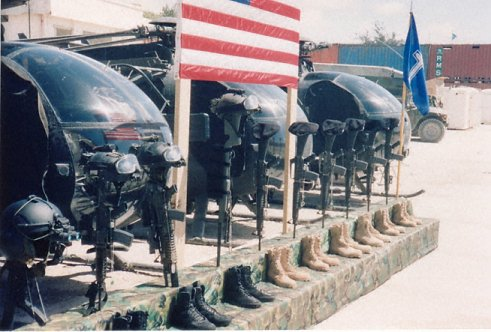 Mrtví Američané a jejich výzbroj